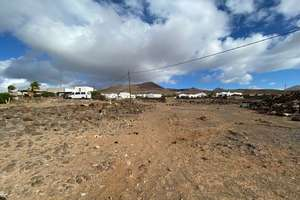 Urban plot for sale in Las Breñas, Yaiza, Lanzarote.